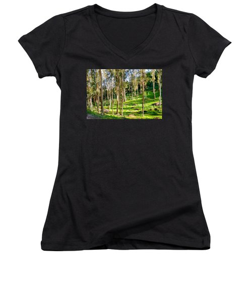 Eucalyptus Women's V-Neck (Athletic Fit)