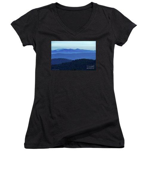 Oregon Blues  Women's V-Neck T-Shirt
