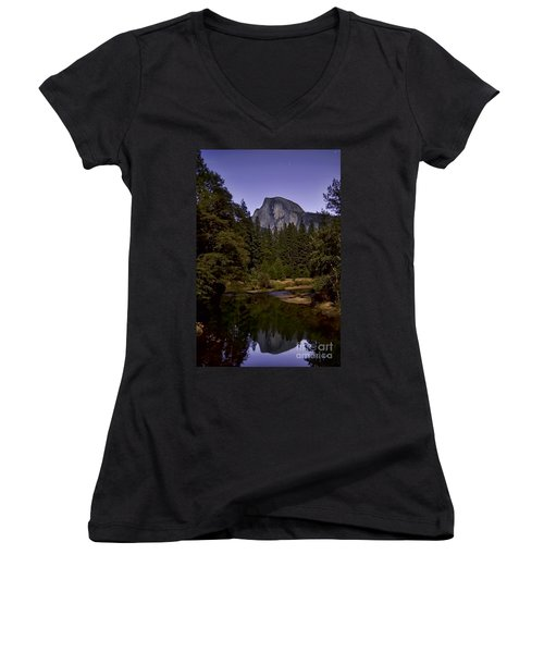 Evening Reflection Women's V-Neck T-Shirt
