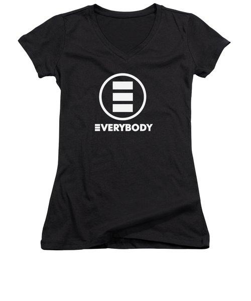 Everybody Women's V-Neck T-Shirt