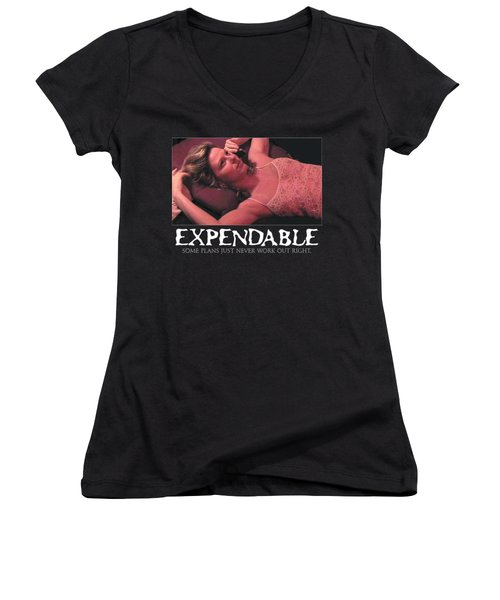 Expendable 4 Women's V-Neck T-Shirt (Junior Cut)