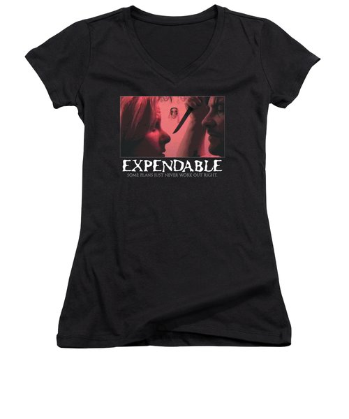 Expendable 9 Women's V-Neck (Athletic Fit)