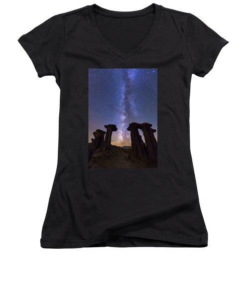 Exploration  Women's V-Neck T-Shirt