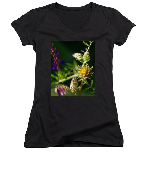 Eye Candy From The Garden Women's V-Neck