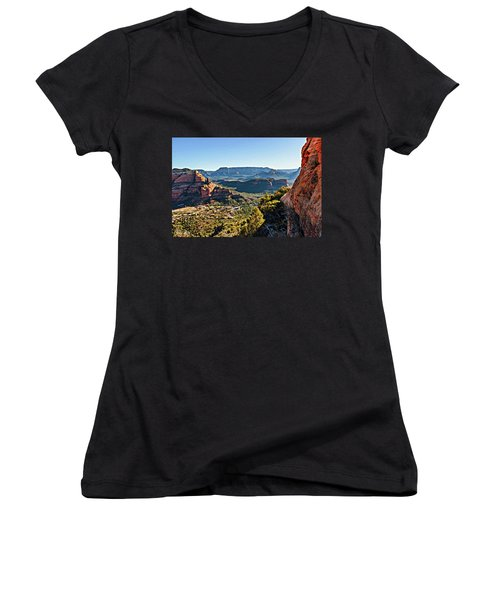 F And B Ridge 07-028 Women's V-Neck (Athletic Fit)