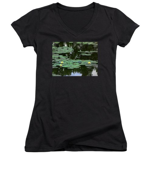 Fairmount Park Lily Pond Women's V-Neck (Athletic Fit)