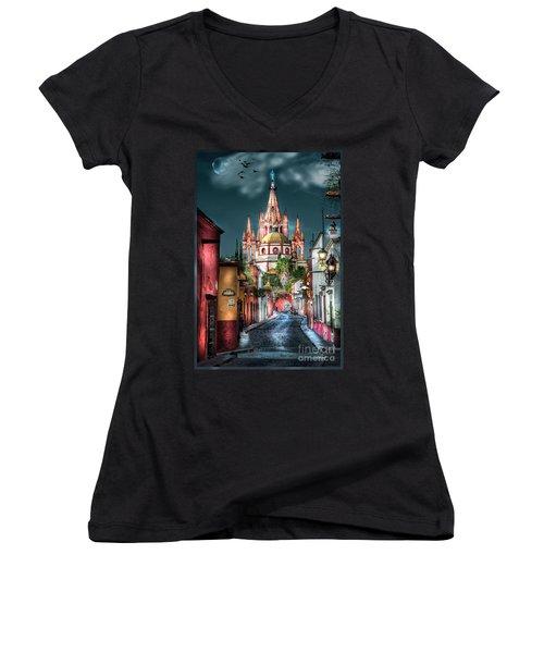 Fairy Tale Street Women's V-Neck