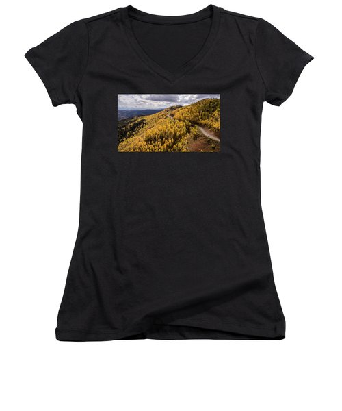 Fall Drive Women's V-Neck (Athletic Fit)