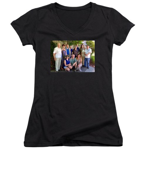 Family And Friends Reunion Women's V-Neck T-Shirt