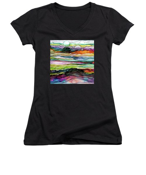 Fantascape Women's V-Neck T-Shirt