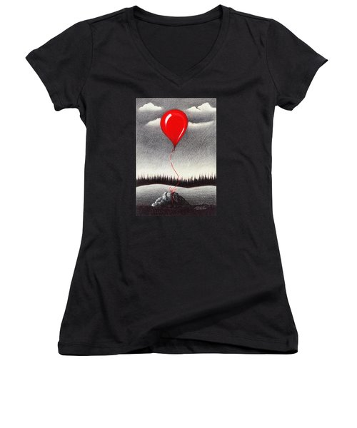 Fantasy And Reality Women's V-Neck (Athletic Fit)