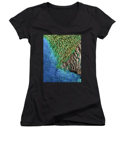 Feathers #1 Women's V-Neck (Athletic Fit)