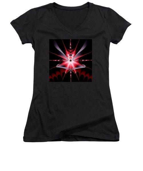 Feelings Love At First Sight Women's V-Neck T-Shirt (Junior Cut) by Andrew Penman