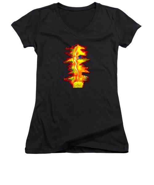 Feminine Light Women's V-Neck T-Shirt