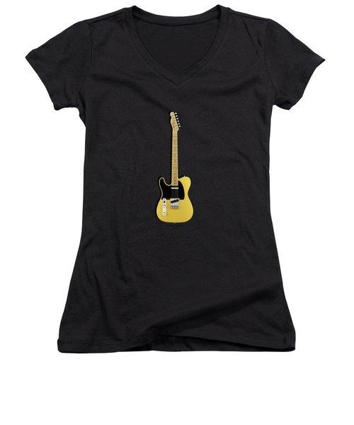 Fender Telecaster Women's V-Neck (Athletic Fit)