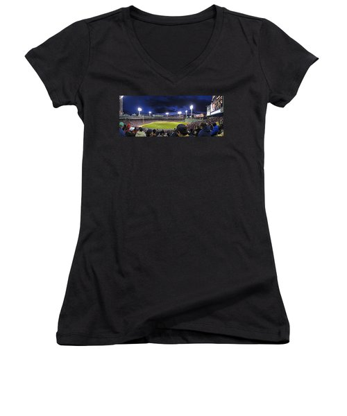 Fenway Night Women's V-Neck (Athletic Fit)