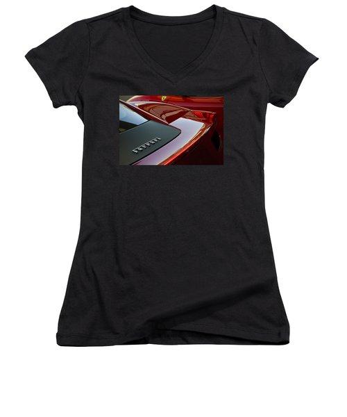 Ferrari Italia Women's V-Neck T-Shirt