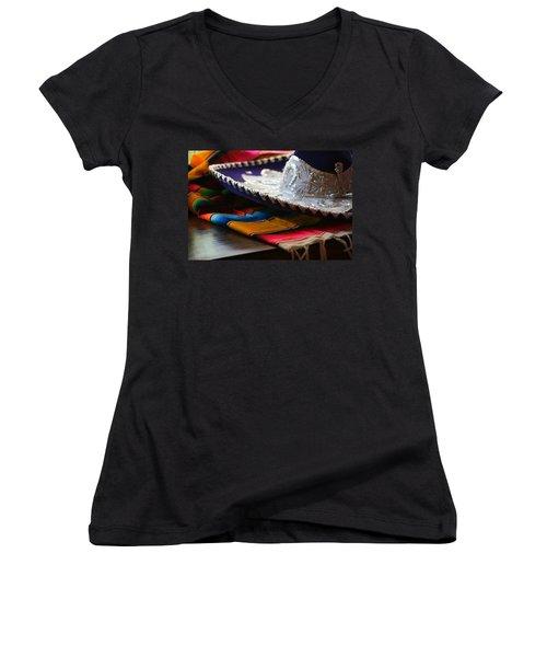 Festive Fancy Women's V-Neck T-Shirt