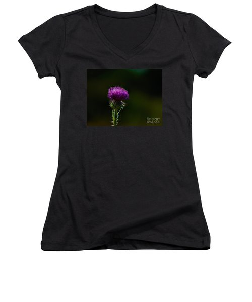 Field Thistle Women's V-Neck