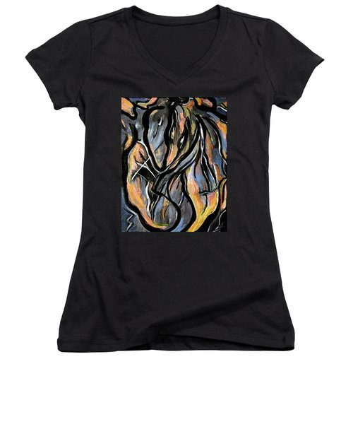 Fire And Stone Women's V-Neck T-Shirt