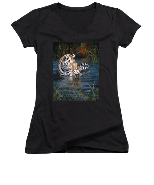 First Reflection Women's V-Neck (Athletic Fit)