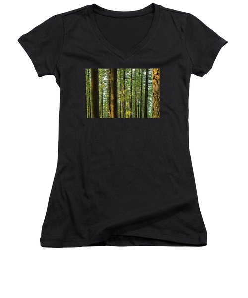 Multnomah Wahkeena Loop Women's V-Neck