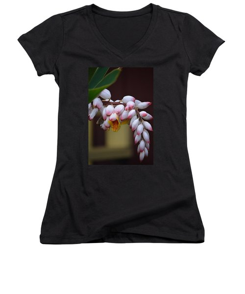Flower Buds Women's V-Neck T-Shirt