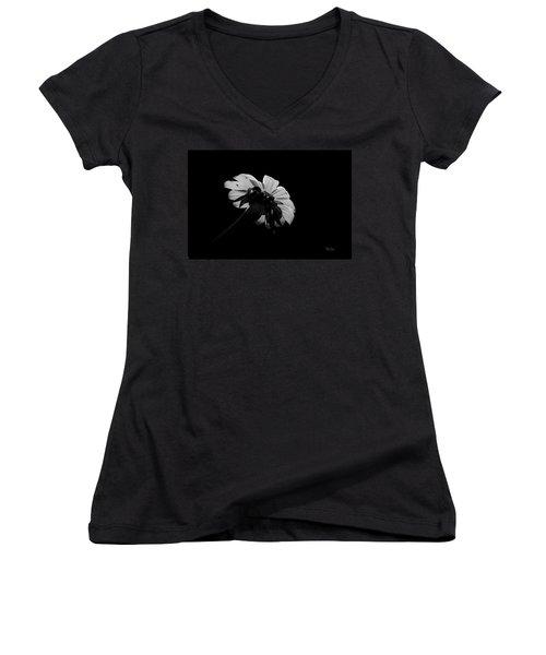 Flower Glow Women's V-Neck T-Shirt