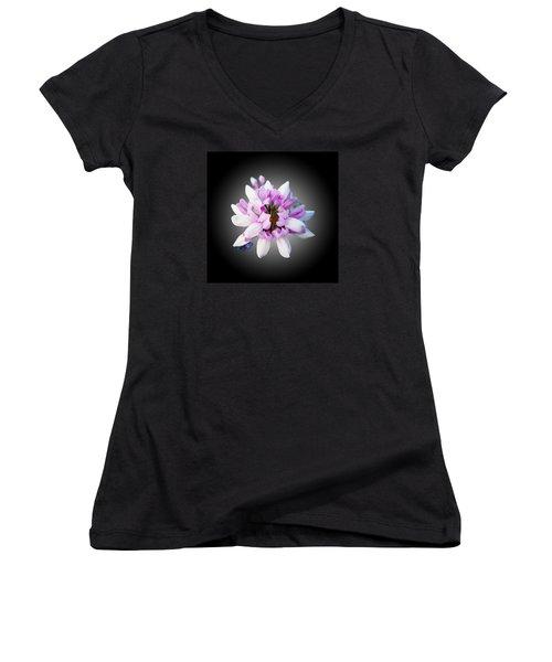 Flower  Securigera Varia Women's V-Neck T-Shirt