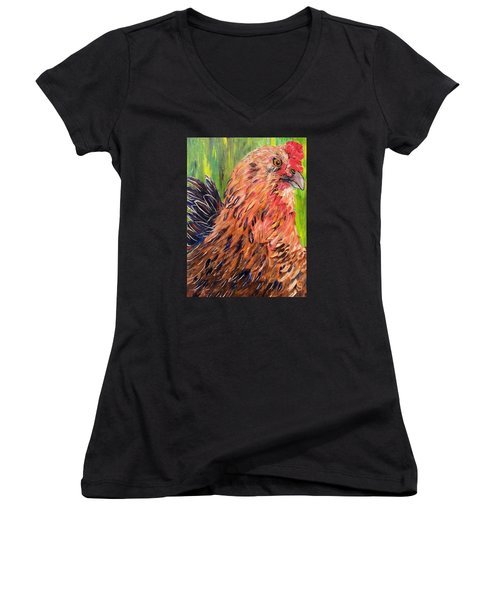 Flowie Women's V-Neck T-Shirt