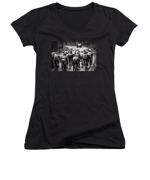 Follow The Lights Women's V-Neck (Athletic Fit)