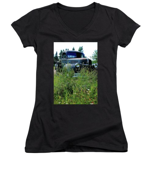 Ford Women's V-Neck (Athletic Fit)