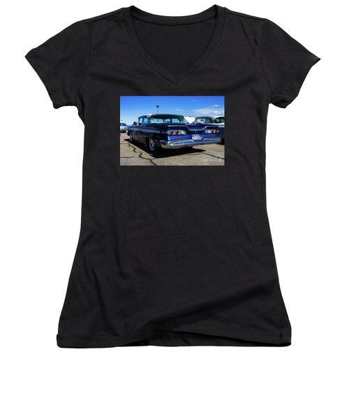 Ford Edsel Ranger Women's V-Neck (Athletic Fit)