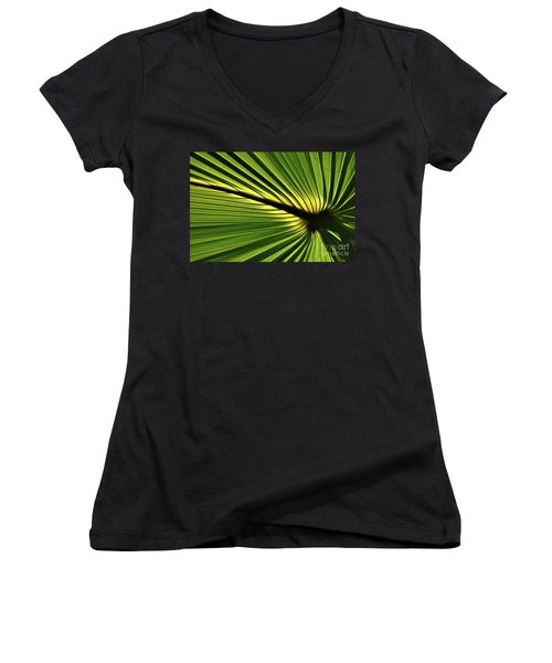 Forever Fronds Women's V-Neck T-Shirt