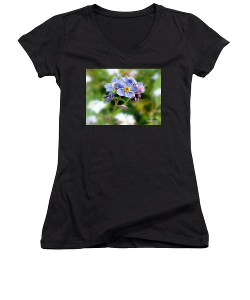 Forget-me-not Women's V-Neck
