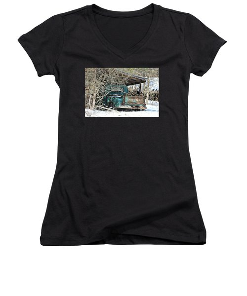 Forgotten Truck Women's V-Neck (Athletic Fit)