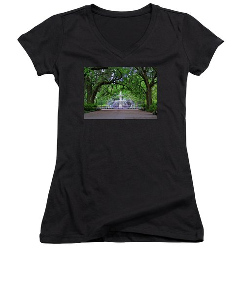 Forsyth Park Women's V-Neck (Athletic Fit)