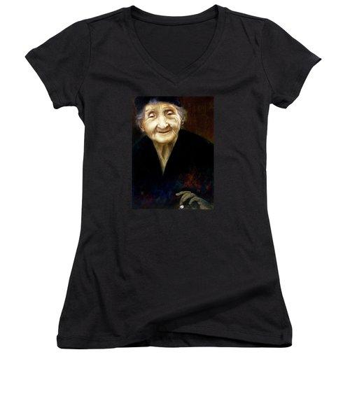 Fortune Teller Women's V-Neck T-Shirt