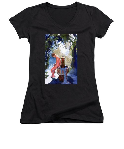 Fountain Women's V-Neck (Athletic Fit)