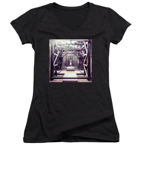 Framework Women's V-Neck T-Shirt (Junior Cut) by Joseph Westrupp