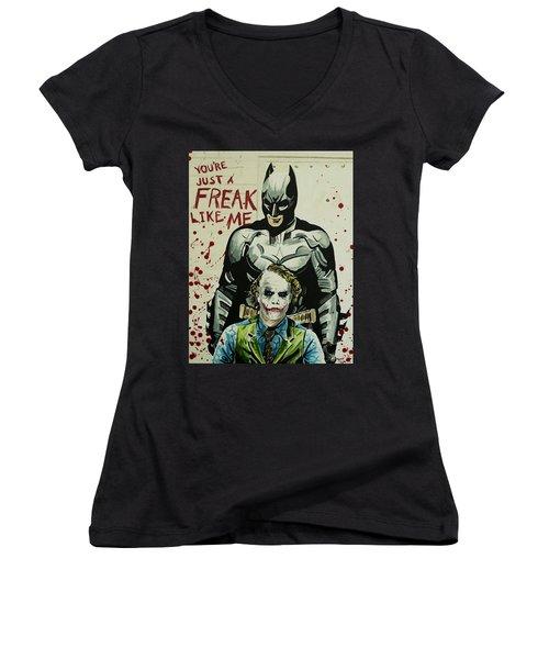 Freak Like Me Women's V-Neck T-Shirt