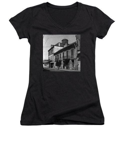 French Quarter Residences Women's V-Neck (Athletic Fit)