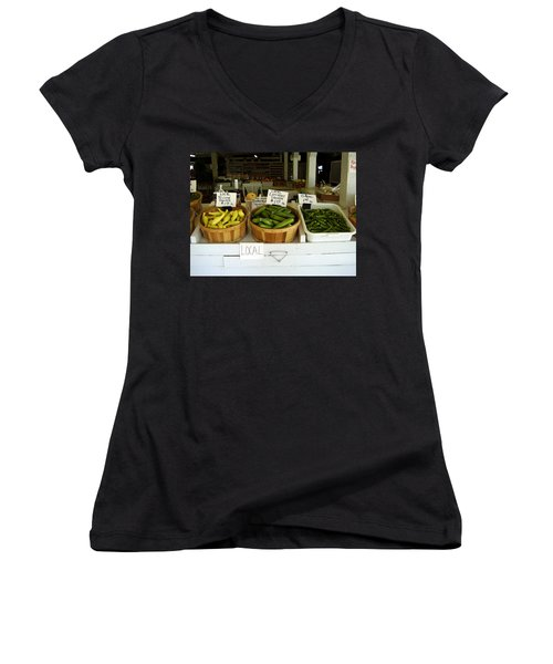 Fresh Produce Women's V-Neck (Athletic Fit)