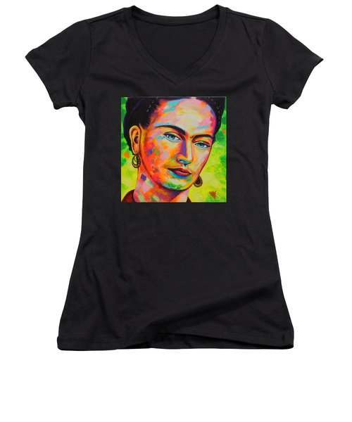 Frida Women's V-Neck T-Shirt