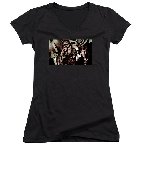 Friends Women's V-Neck T-Shirt
