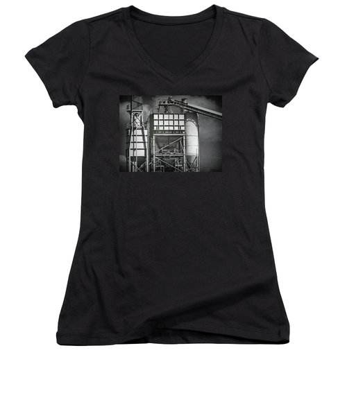 From The Big Toolbox Women's V-Neck T-Shirt (Junior Cut) by Wendy J St Christopher