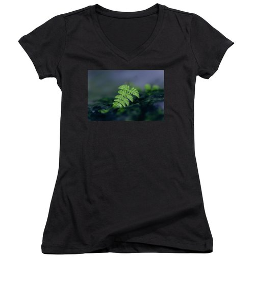 Frozen Fern II Women's V-Neck