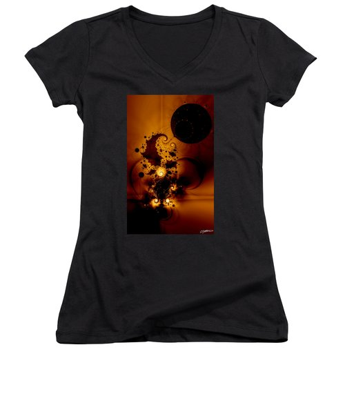 Galileo's Muse Women's V-Neck T-Shirt