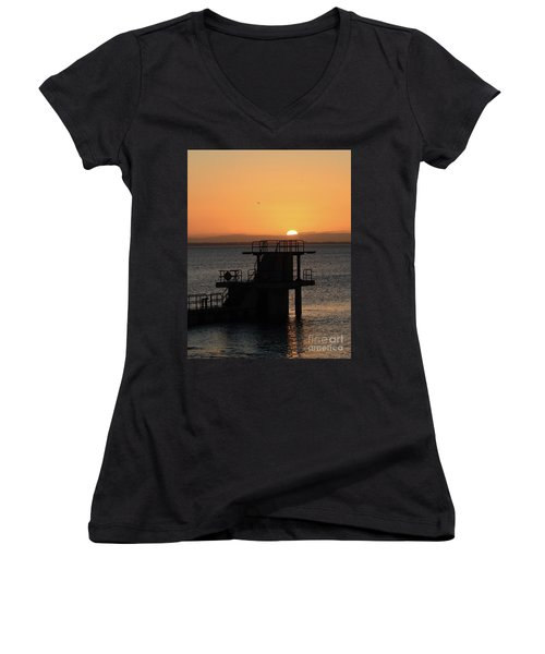Galway Bay Sunrise Women's V-Neck