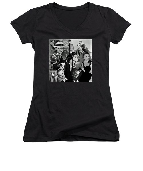 Gangland Women's V-Neck T-Shirt (Junior Cut)